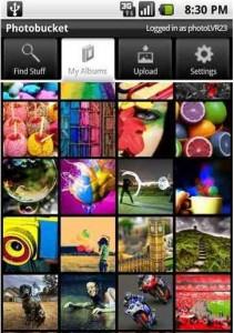 Photo Bucket App