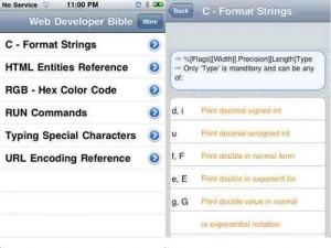 Web Developer Bible App