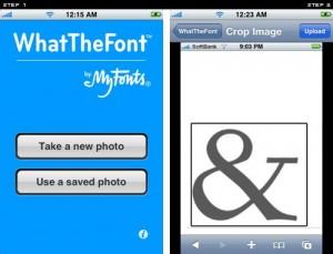 Whatthefont App