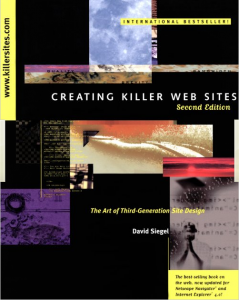 Creating Killer Web Sites Cover Photo