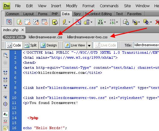Dreamweaver CS4 - Dreamweaver CS4 Code Navigator and Code