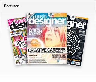 KillerSites featured in Web Designer Magazine